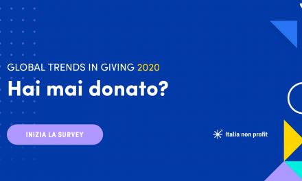 Global Trends in Giving 2020: Indagine Italiana