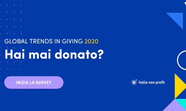 Global Trends in Giving 2020: Indagine Italiana