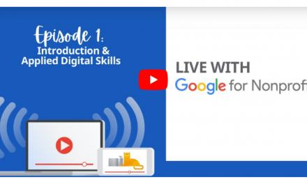 Webinar di Google for Nonprofits